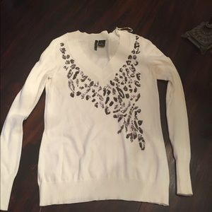 New directions sz med long sleeve with sequin